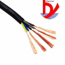 24 AWG 0.2MM2 RVV 2/3/4/5/6/7/8/10/12/14/16/18 Cores Pins Copper Wire Conductor Electric RVV Cable Black катушка индуктивности jantzen cross coil 12 awg 2 mm 6 2 mh 0 53 ohm