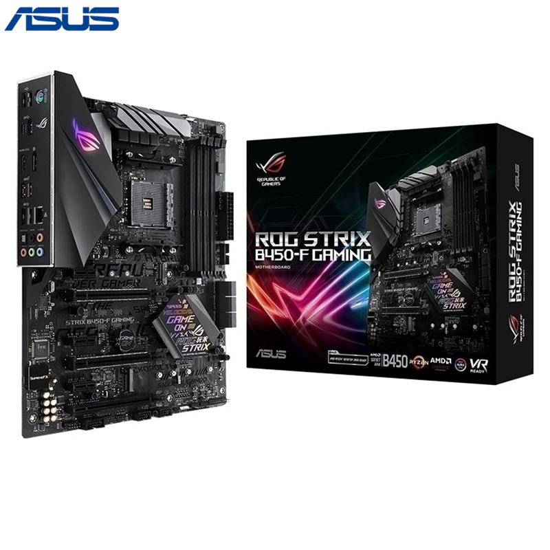 Asus ROG STRIX B450-F GAMING Motherboard AM4 Socket DDR4 HDMI AM4 ATX Motherboard