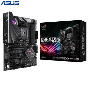 Asus ROG STRIX B450-F GAMING Motherboard AM4 socket DDR4 HDMI AM4 ATX Motherboard - DISCOUNT ITEM  10% OFF All Category