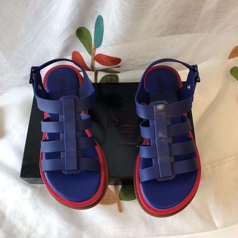Melissa chaussures 3D Bow Parent-enfant chaussures femmes gelée sandales 2019 nouvelles femmes chaussures Melissa gelée chaussures antidérapant