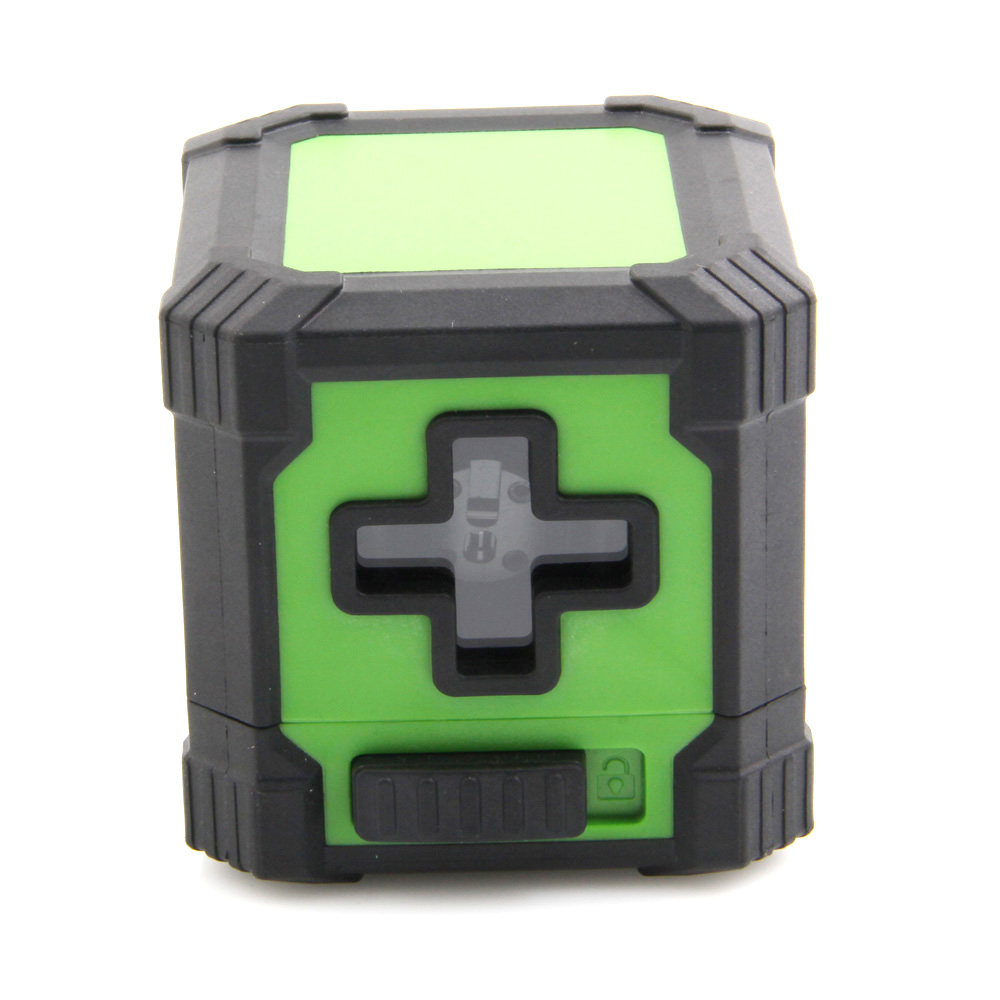 outdoor green Laser level Laser Infrared mini Level 2 line cross levelling laser level tools Building / Woodworking Tools kapro clamp type high precision infrared light level laser level line marking the investment line