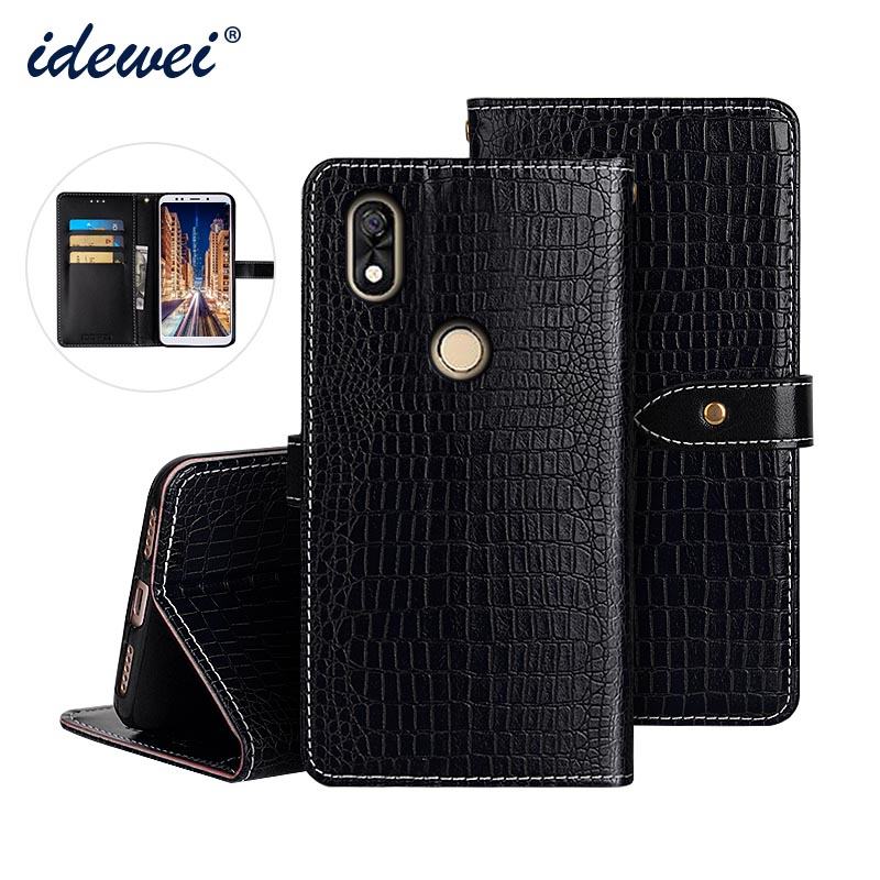 <font><b>BQ</b></font> 6015L luxury leather case cover Flip Case for <font><b>BQ</b></font> <font><b>6015</b></font> universe crocodile grain phone protective case image