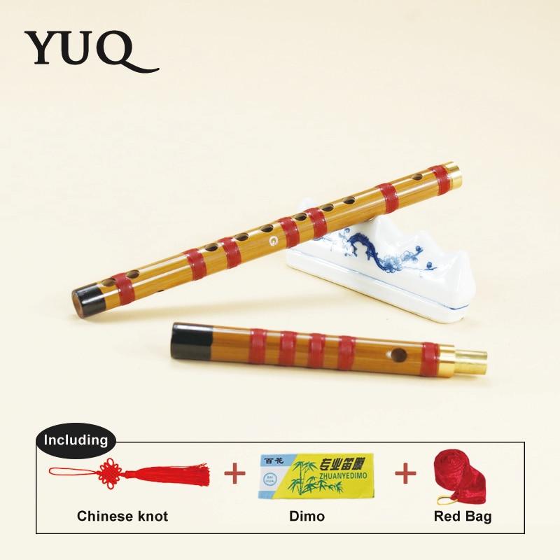 YUQUE Bamboefluit beginner Houtblazers dizi Muziekinstrumenten C D E - Muziekinstrumenten - Foto 2