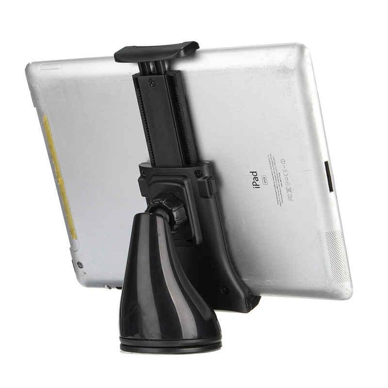 New 11.5-21cm Flexible Mobile Tablet Car Stand Holder Universal Suction Cup Car Windshield Mount Holder Stand For Mobile Phone cige a6510 10 1 inch android 6 0 tablet pc octa core 4gb ram 32gb 64gb rom gps 1280 800 ips 3g tablets 10 phone call dual sim