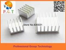 3pcs/lot Free shipping for Raspberry Pi 2 B Heatsink Cooler Pure Aluminum Heat Sink Set Kit Radiator with Adhesive
