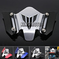 For YAMAHA MT07 FZ07 MT-07 FZ-07 2014-2016 Motorcycle Accessories CNC Aluminum Windscreen Windshield Mounting Bracket Black
