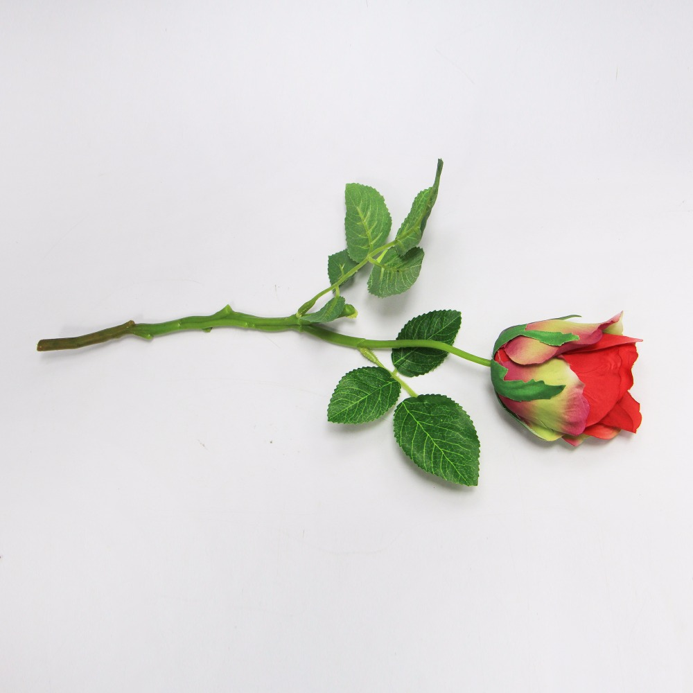 Uland Artificial Flower Silk Real Touch Italy Rose Handmade Wedding