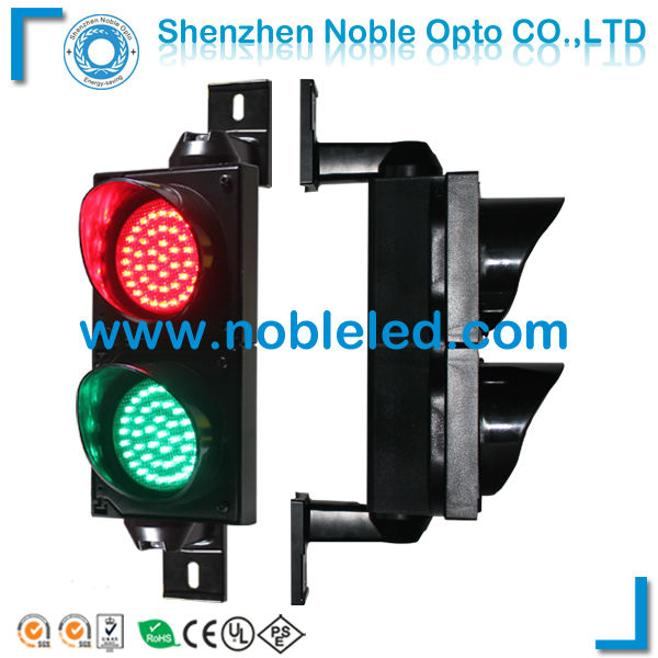 100mm Traffic Light For Parking Lot Vehicle Access Control