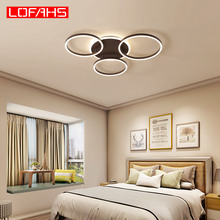 купить LOFAHS modern led chandelier lighting for living room bedroom kitchen Indoor deco ceiling chandelier Postmodern lamp lustres по цене 4695.96 рублей