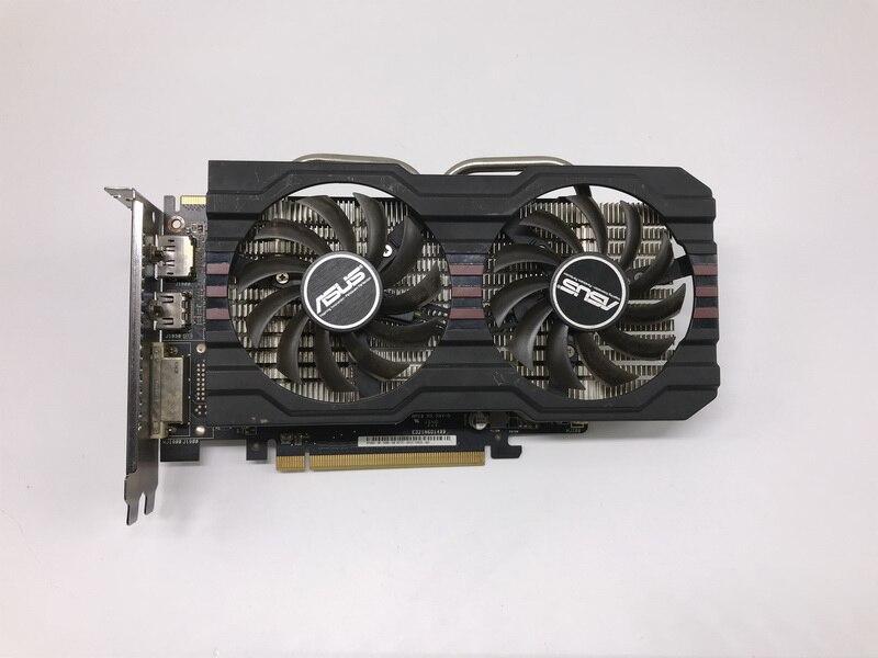 Utilizado, ASUS R7 260X2 GB 128bit DDR5 Gaming PC Gaming tarjeta gráfica, 100% probado bien