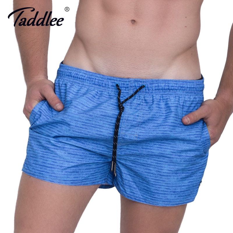 Taddlee Brand Mens Beach   Shorts     Board   Active Trunks Sweatpants Fashion Plus Size Quick Drying Jogger   Shorts   2017 New