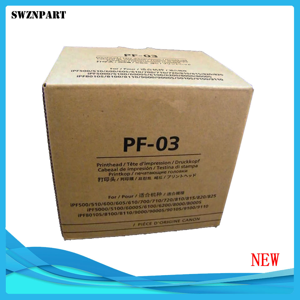 PF 03 PF03 Printhead Print Head For Canon IPF500 IPF510 IPF600 IPF605 IPF610 IPF700 IPF710 IPF720