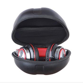 Hard EVA Headphone Large Case Big Earphone Headset Bag Portable Original High Quality Universal Storage Carry Bag