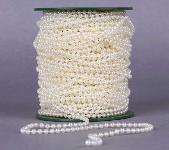 Bianco perline ghirlanda acquista a poco prezzo bianco perline ...