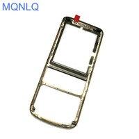 Vordere Abdeckung Für Nokia 6700 Klassische 6700C Handy Gehäuse Fall Ersatz Teile Golden Schwarz Silber