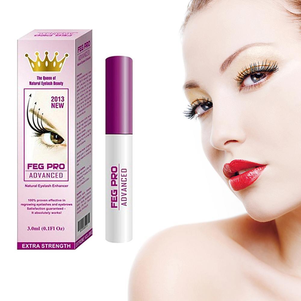 New FEG 3ml Eyelash Growth Pro Advanced Serum Makeup Booster Treatments Enhancer x-lash