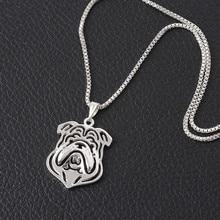 Cartoon Bulldog Necklace