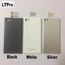 LTPro High Quality New Black Sliver White Back Battery Door Housing Cover For Xiaomi Mi 3 M3 Mi3 WCDMA Version