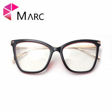 MARC UV400 WOMEN 2018NEW Eyewear designer Cat eye sunglasses Oculos Resin sol Plastic gafas Clear eyewear