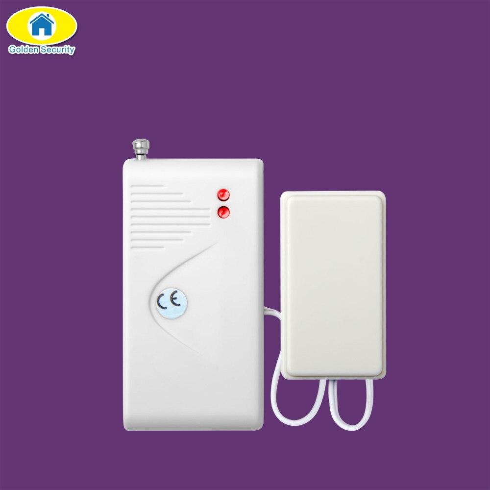Golden Security Wireless Water Leak Detector Water Sensor Alarm Leak Alarm for G90B Plus S5 3G Smart House Home Security
