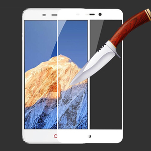 Image 5 - 2PCS 3D  Tempered Glass For ZTE Nubia N1 Full screen Cover Explosion proof Screen Protector Film For NX541J 5.5 inch