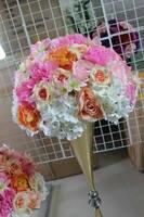 SPR NEW!!Free shipping!10pcs/lot wedding table artificial flower ball wedding centerpiece flower walls backdrop decorative flore