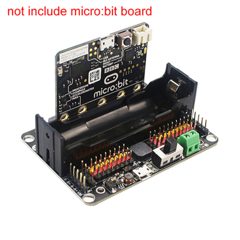 For Microbit Micro:bit Expansion Board Robotbit Python Educational For Kids