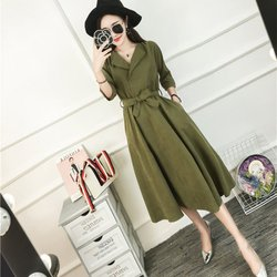 Ladies Belt Half Sleeve Dresses Elegant Vestidos Clothing Femme Beach Party Dress Women Spring Dress Y6 5