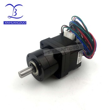 Nema 17 Stepper Motor Gear ratio 5:1 14:1 19:1 34mm Planetary Gearbox High Torque Geared Stepper Motor 1.68A DIY CNC 3D Printer image
