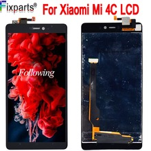 For Xiaomi Mi4C M4C Mi 4C LCD Display + Touch Screen Digitizer Assembly For 5.0