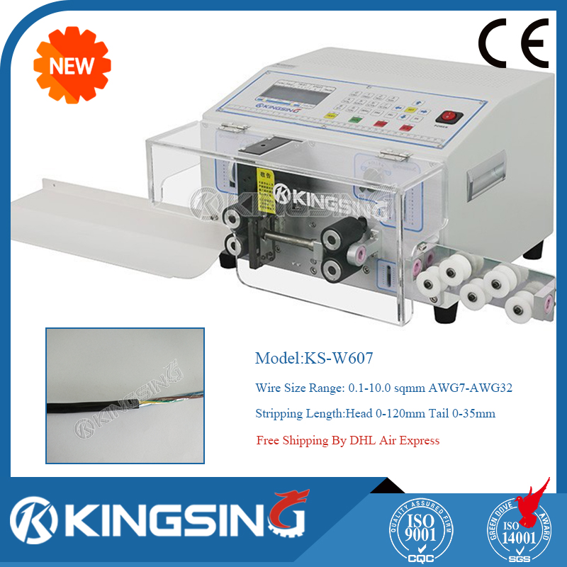 Fully Automatic Wire Cutting Stripping Machine Ks W607