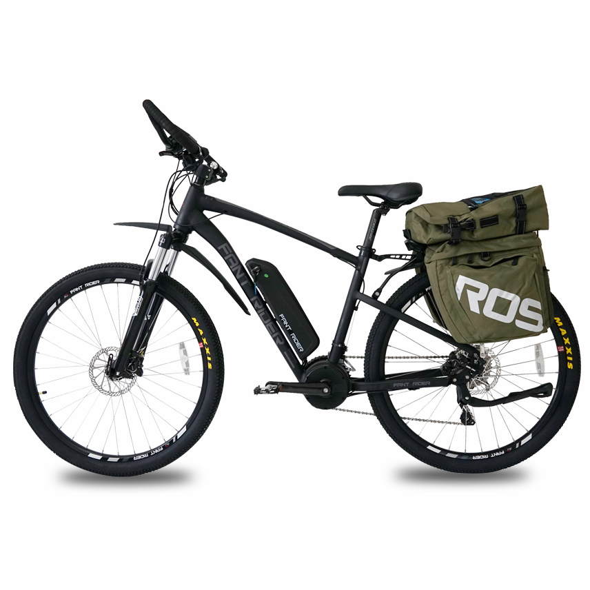 Back To Search Resultssports & Entertainment 26x17 Inch Electric Mountain Bike Oil Hydraulic Disc Brake Lockable Shock Front Fork Bafang Front Drive Motor Smart Sensor Ebike Cheap Sales Bicycle