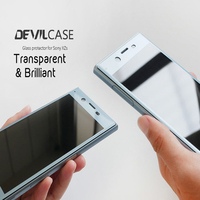 DEVILCASE OCA Craft Curved Glass Protector For SONY XPERIA XZ XZs 5 2inch Screen Protector Anti