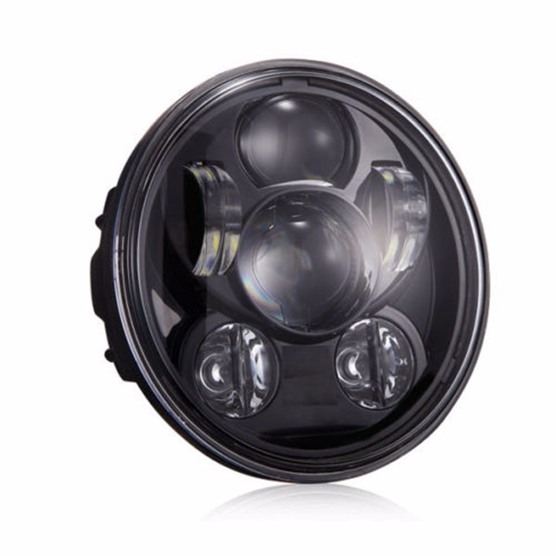 5.75 LED Projection Daymaker Headlight For Harley Sportster XL 883 1200 Dyna