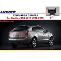 Car Parking Camera Reverse Camera For Cadillac SRX 2014 2015 2016 RearView Camera License Plate Light