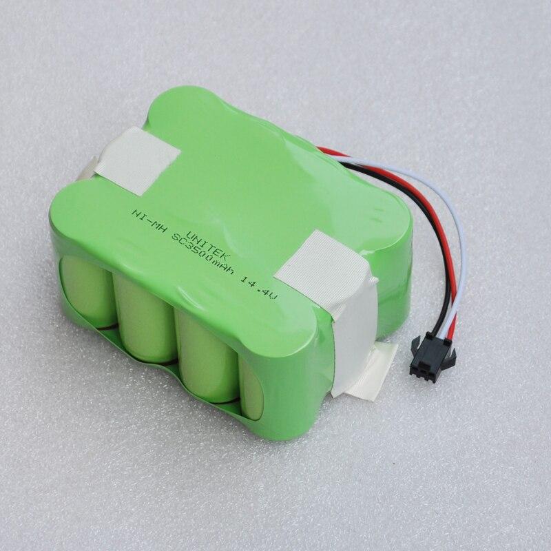 14.4 V Ni-MH bateria recarregável do SC 3500 mAh Vácuo Varrendo Robô Aspirador para KV8 XR210 XR510 XR210A XR210B XR210C XR510A