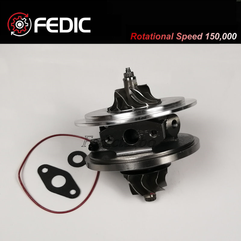 Turbo cartridge GT1749V CHRA 713517 802418 1S4Q6K682AF Turbo charger for Ford Focus 1 8 TDCi 74Kw