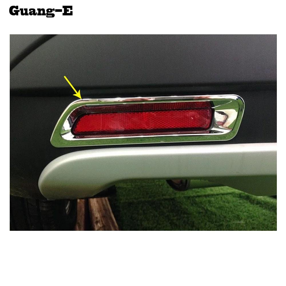 Brake Light Lamp Frame Cover For Suzuki SX4 S-cross 2014-2016 Rear Bumper Fog
