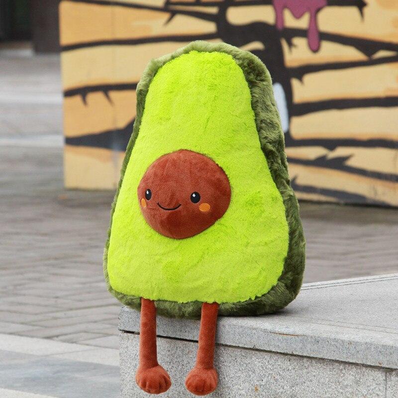 1 Pc 50 Cm Avocado Vruchten Leuke Pluche Gevulde Speelgoed Poppen Zachte Kussen Kussen Geschenken Voor Kinderen Kerstcadeau Meisjes Squishy