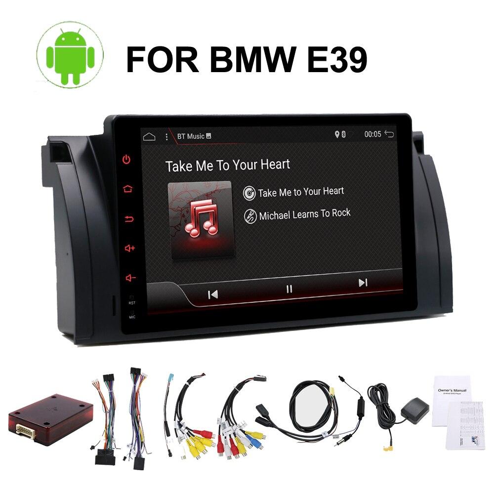 Quad core 1 din Android 7.1 DVD de voiture/radio pour BMW E39 E53 X5 M5 lecteur multimédia auto-radio stéréo pas DVD wifi, 4G, BT, canbus, RDS