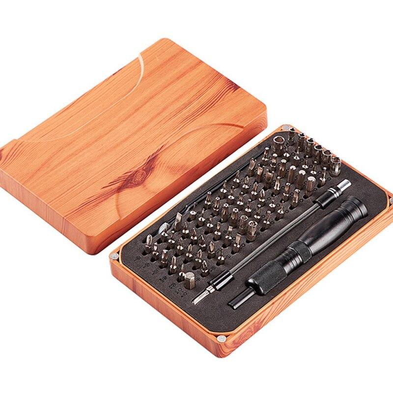 כלים יד 69 ב 1 Precision מברג הגדר עם 66 ביט מגנטי Driver Kit יד כלים אלקטרוניקה תיקון כלי ערכות Multi-Function אצווה (1)