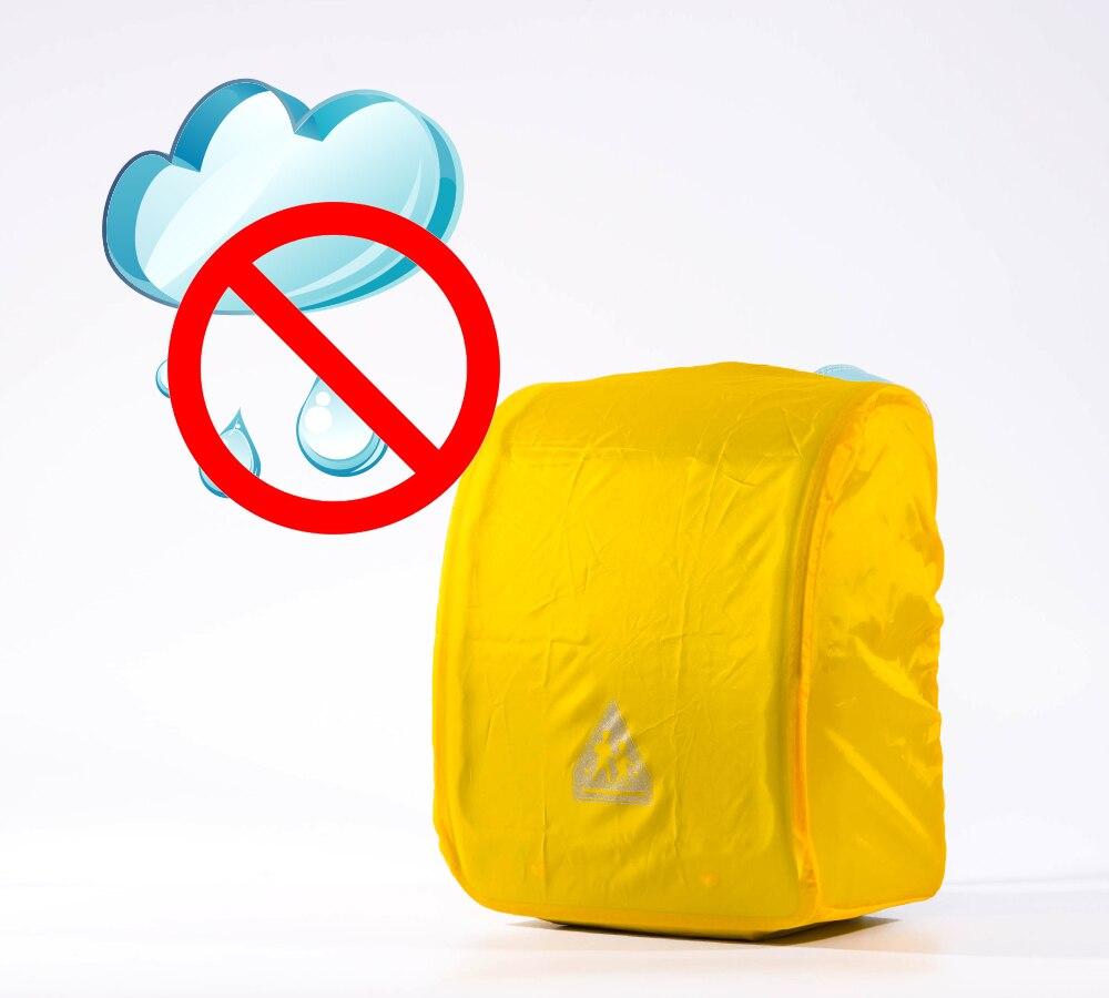 Coulomb Bag Accessories School Bag Yellow Rain Cover Randoseru Rainproof Function