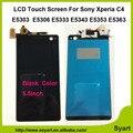 1 шт. Черный высокое качество ЖК-Дисплей + Сенсорный Экран Планшета ассамблея Для Sony Xperia C4 E5303 E5306 E5333 E5343 E5353 E5363