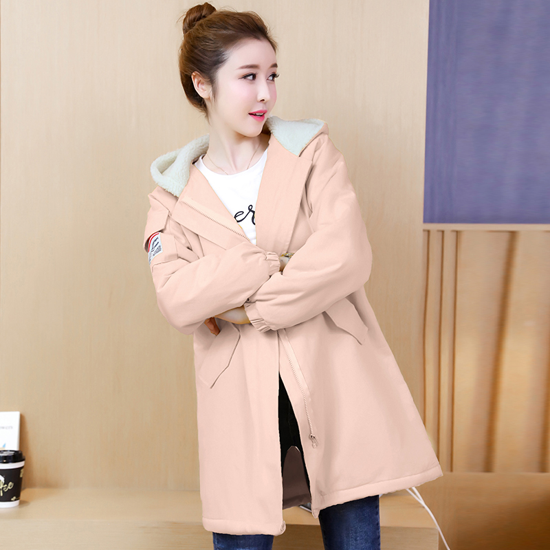 купить Winter Casual Pregnancy Cotton Jacket Warm Coat Overcoat For Pregnant Women Loose Outerwear Thick Pregnancy Clothes New по цене 3341.4 рублей