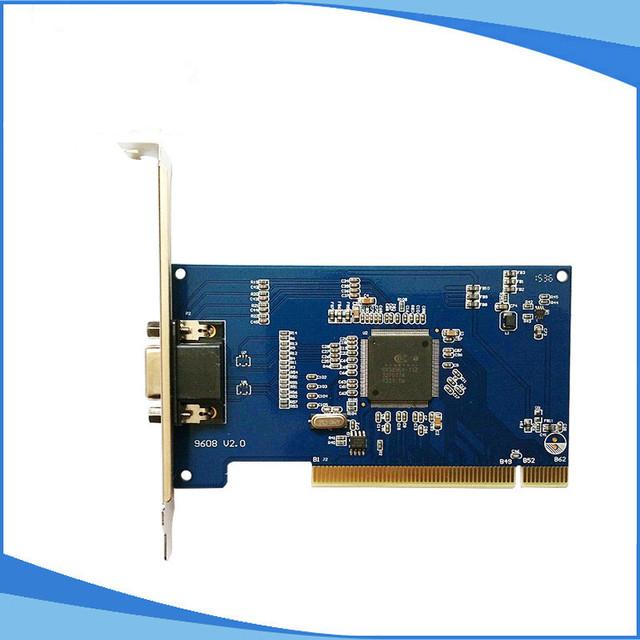 Cartão hd d1 Em Tempo Real cctv 8ch dvr PCI placa de Captura de Vídeo Para Windows com Áudio 4ch