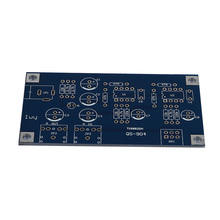 Placa AMP Amplificador de Auscultadores portáteis Kits Do Módulo Para O Clássico 47 DIY com Caso