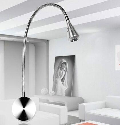 Aluminum 400mm Led Flexible Spotlight 3w 85 256v LED Wall Reading Lamp 40cm  Modern Led Part 91