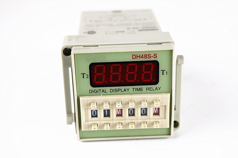 DH48S-2z-S 12V 24V 110V 220V Multifunction Digital Timer Relay On Delay 8 Pins SPDT DH48S-S Repeat Cycle 0.1S-99H 1pc multifunction self lock relay cycle timer module plc home automation delay 12v