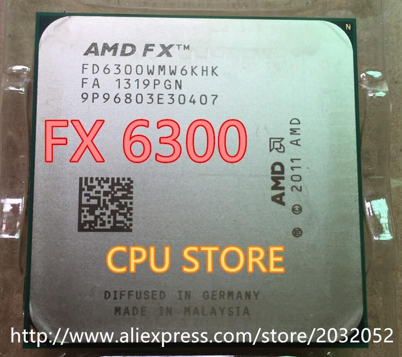 Amd Fx 6300 Am3 3 5ghz 8mb 95w Cpu Processor Fx 6300 Can Work In