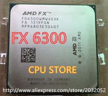 AMD FX 6300 AM3+ 3.5GHz 8MB 95W CPU processor (working 100% Free Shipping)